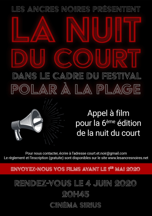 flyer appel à film