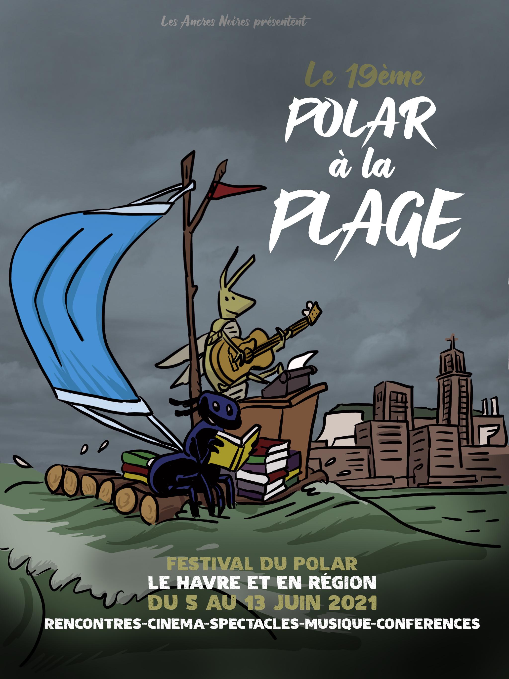 polar a la plage